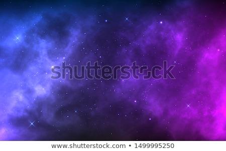 Photo stock: Nébuleuse · vecteur · design · eps10 · illustration · étoiles