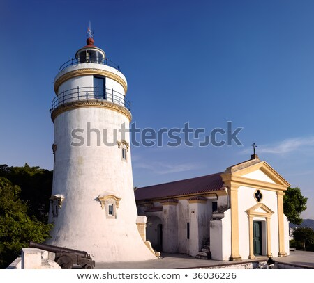 this lighthouse is the oldest in South China Coast. It is locate Stock photo © cozyta