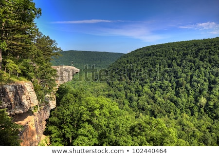 Hawksbill Crag Hiker Stock photo © macropixel