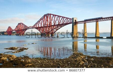 моста Эдинбург средний дороги мнение движения Сток-фото © prill
