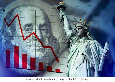 ストックフォト: ドル · ショット · 金融
