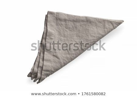kitchen towels isolated on a white background stock photo © ozaiachin