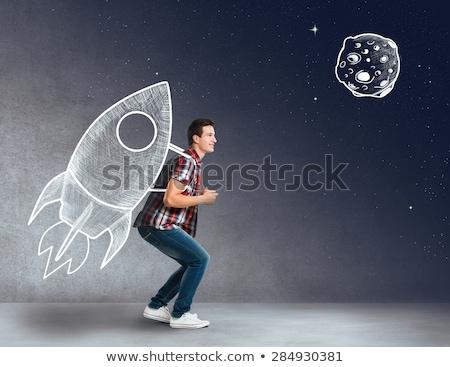 空 · お金 · アップ · ビジネス · 金融 - ストックフォト © macropixel