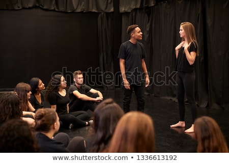 Actor's rehearsal studio Stock photo © haiderazim
