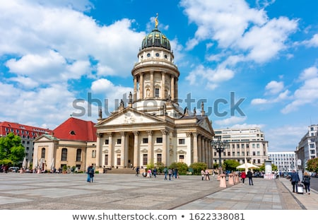 French Cathedral in Berlin Stock photo © prill