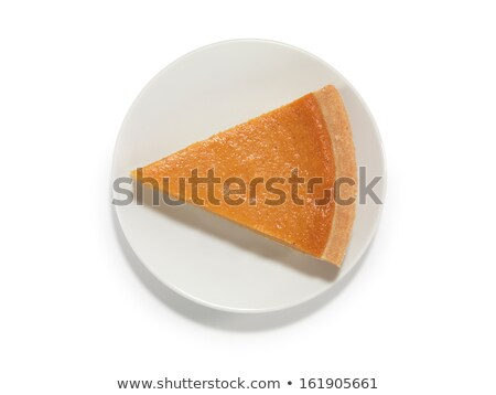 Pumpkin Pie Slice with Clipping Path Stock photo © lisafx