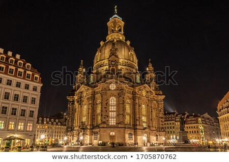 Dresden at night Stock photo © joyr