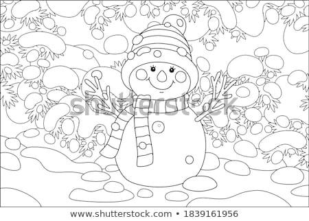 Weihnachten · Tanne · Niederlassungen · Spielzeug · Neujahr · Baum - stock foto © elmiko