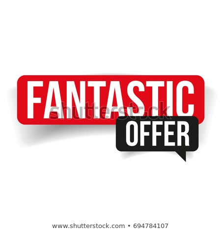 fantastic offer red banner Stock photo © marinini