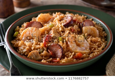 cajun jambalaya stock photo © phila54