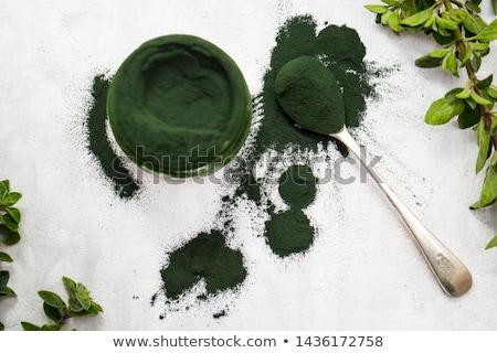Poudre tas utilisé alimentaire Photo stock © ldambies