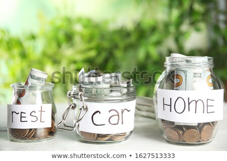 Cars in a Jar Stock photo © 2tun