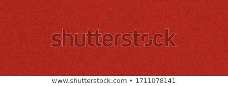 Cotton Fabric Texture - Red Stock photo © eldadcarin
