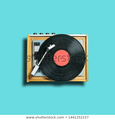 Retro Turntable stock photo © Editorial