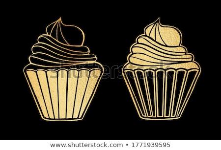 ストックフォト: 甘い · 言葉の雲 · コーヒー · チョコレート · イチゴ