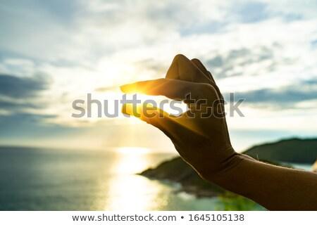 út menny absztrakt spirituális hátterek terv Stock fotó © tolokonov