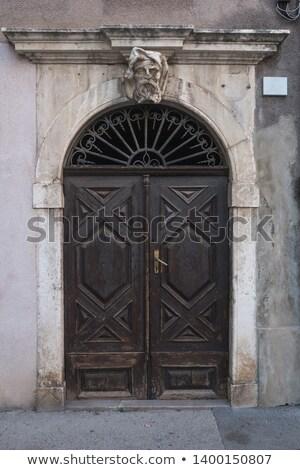 kapı · alhambra · saray · güneş · tatil · gölge - stok fotoğraf © anshar