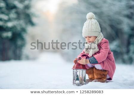 少女 · クッキー · サンタクロース · かわいい · 若い女の子 · 帽子 - ストックフォト © balasoiu