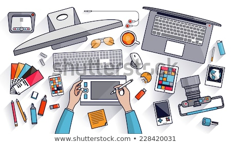 porady · przycisk · pomocny · wskazówka · sztuczka · hot - zdjęcia stock © tashatuvango