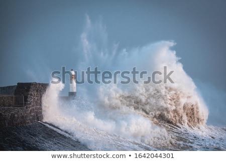 Stock photo: Seaside storm