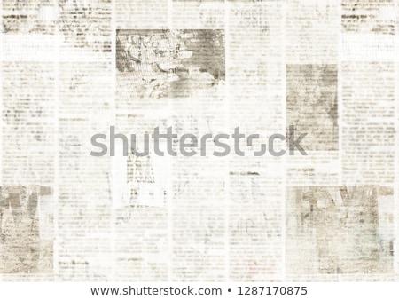 新聞 文字 本当の テクスチャ 新聞 ストックフォト © d13