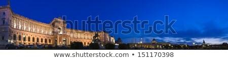 宮殿 · ウイーン · オーストリア · 馬 · 通り - ストックフォト © phbcz