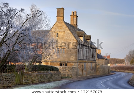 Angleterre joli ferme architecture vacances Photo stock © andrewroland