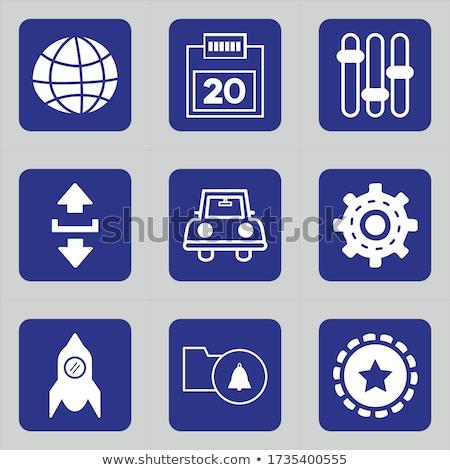 Wi-fi Desktop календаря красный текста белый Сток-фото © tashatuvango