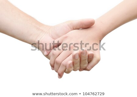 a pair of holding hands people stock photo © kirill_m