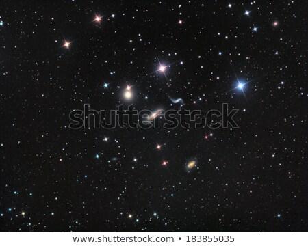 galaksi · grup · güneş · ışık · ay · uzay - stok fotoğraf © rwittich