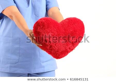 Törődés szakemberek portré fókuszált egészségügy dolgozik Stock fotó © kasto
