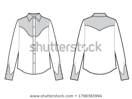 Western pólók fogas hölgyek vásár Calgary Stock fotó © songbird