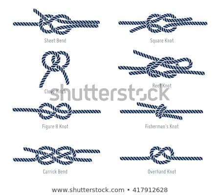 Zdjęcia stock: Węzeł · łatwe · przydatny · obracać · dwa