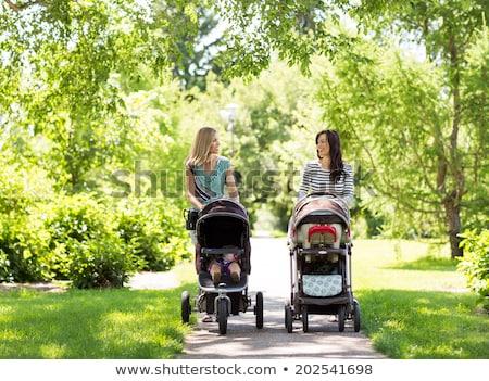 madre · bambini · madri · giorno · felice · seduta - foto d'archivio © nejron