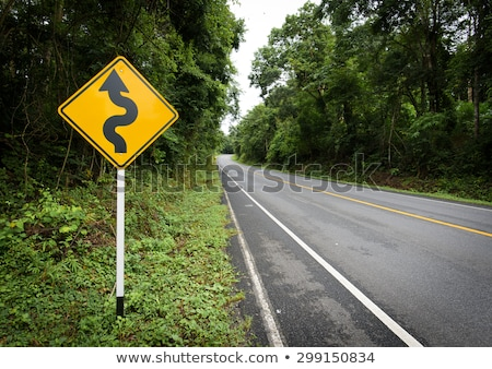 road sign in green grass field stock photo © cherezoff