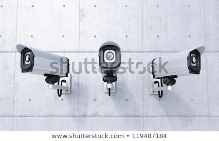 kameralar · kentsel · bölge · mavi · gökyüzü · şehir - stok fotoğraf © smuki