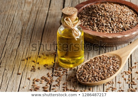 Linseed oil Stock photo © yelenayemchuk