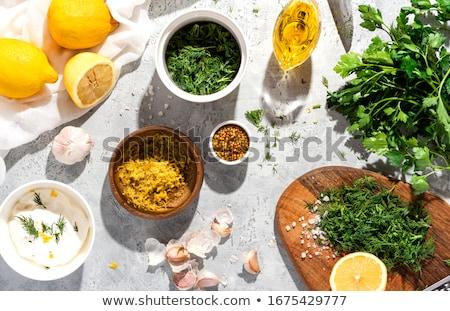 making sauce stock photo © hofmeester