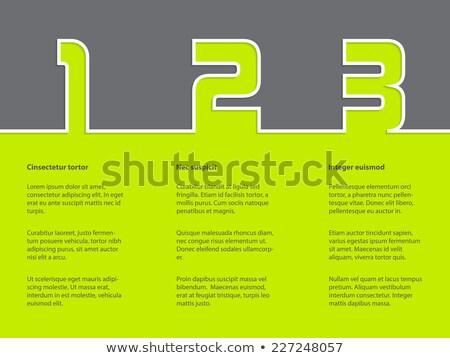 набор · серый · простой · иконки · веб-дизайна · вектора - Сток-фото © vipervxw