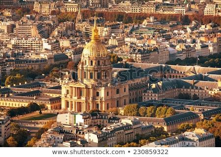 армии музее Париж Франция облачный день Сток-фото © AndreyKr
