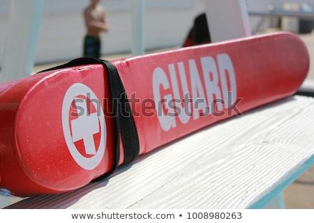 спасатель станция закрыто нет синий Сток-фото © actionsports