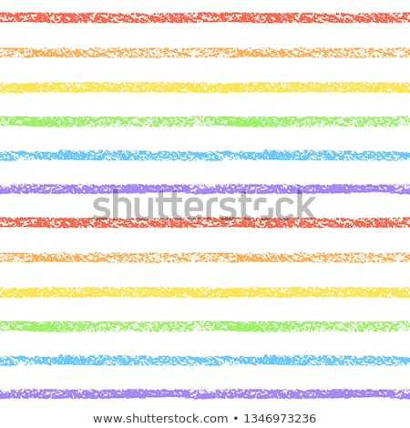 Long row of chalks in the colors of the rainbow Stock photo © ozgur