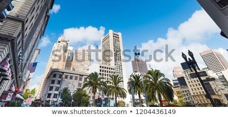 Unión cuadrados San Francisco turistas 2014 Foto stock © AndreyKr