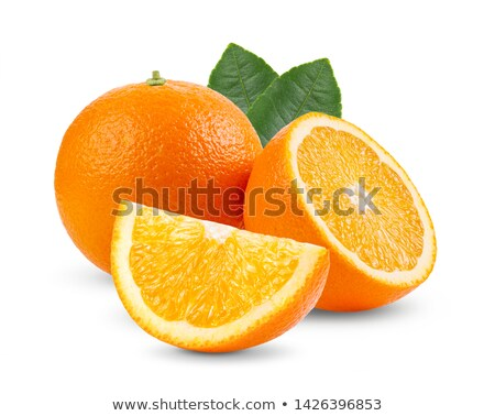 Oranges on white Stock photo © dezign56