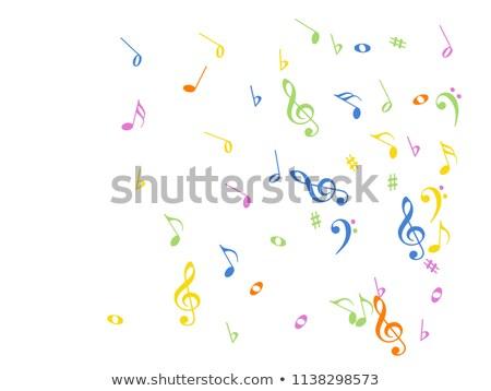 Grunge Melodie Texturen abstrakten Hintergrund Raum Stock foto © ilolab