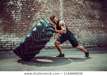 Intense athlétique homme yeux sport Photo stock © jackethead