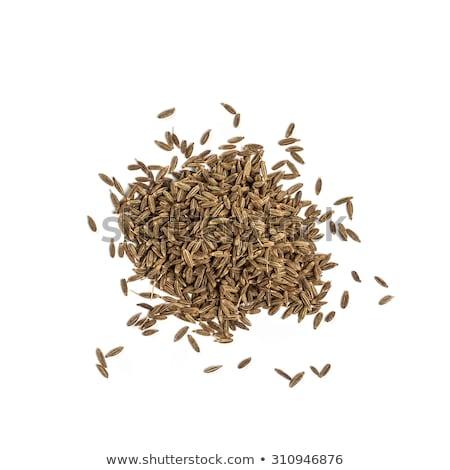 siyah · kimyon · arka · plan · tohum · sağlıklı · baharat - stok fotoğraf © vinodpillai
