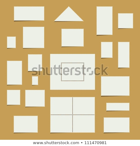Blank Customizable Stamp Stock photo © make