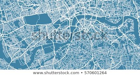 Londra kırmızı pin şehir sokak Stok fotoğraf © chris2766