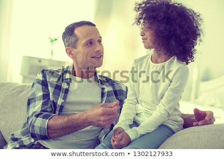 父 知恵 子 家族 愛 ストックフォト © kentoh